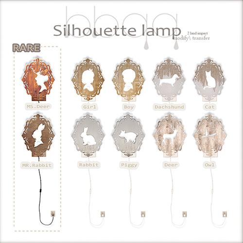 BBQQ-Silhouette Lamp