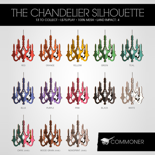 Commoner-Chandelier Silhouette