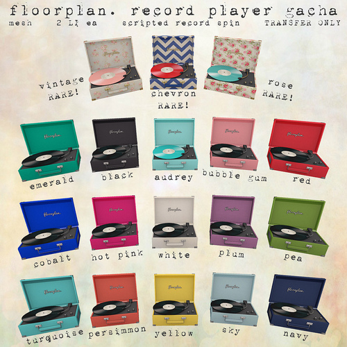 Floorplan-Record Player