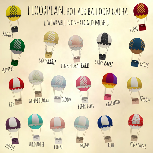 Floorplan-Hot Air Balloon Gacha