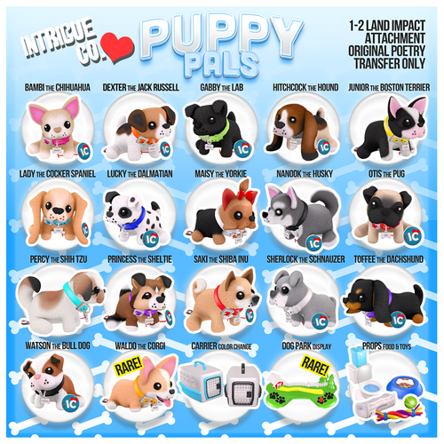 Intrigue Co.-Plushie Pals: Puppy Pals