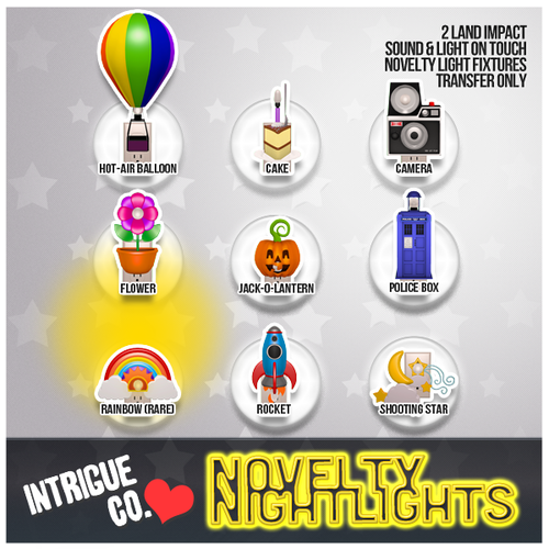 Intrigue Co.-Novelty Nightlights