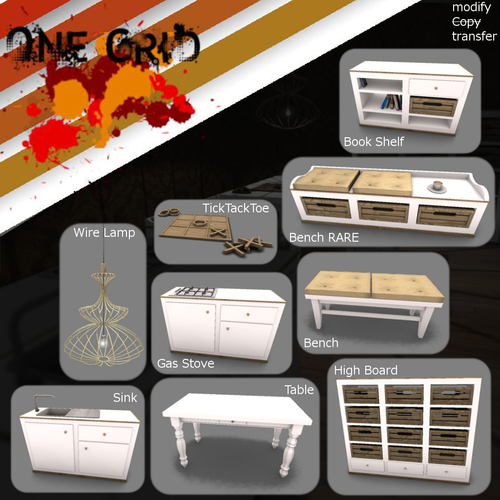 One Grid-Buffet Set