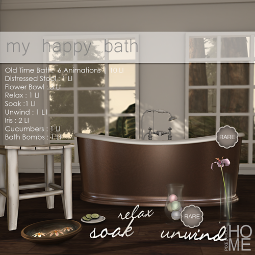 Pixel Mode-My Happy Bath