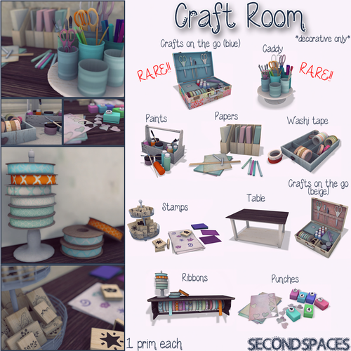 Second Spaces-Craft Room