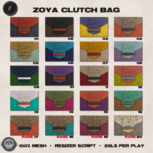 Shakeup-Zoya Clutch Bag