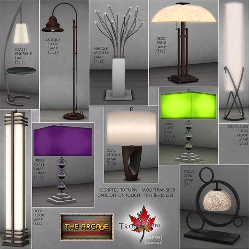Trompe Loeil-Lamps! Part 2