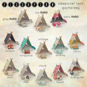 Floorplan Tents