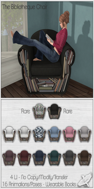 Alouette - The Bibliotheque Chair