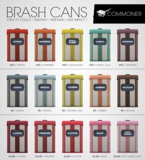 Commoner - Brash Cans