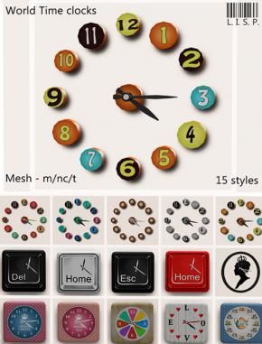Lisp Bazaar - World Time Clocks