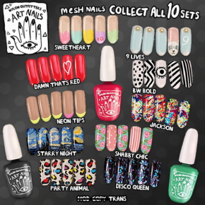 Nylon Outfitters - Art Nails
