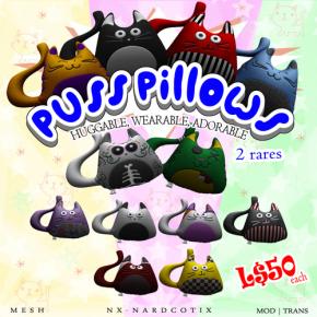 Nardcotix - Puss Pillows