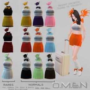 O.M.E.N. - Flight Attendant Outfits