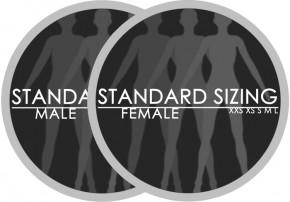 standard sizing logo