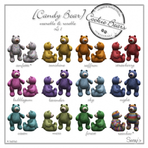 Sway's - Candy Bear
