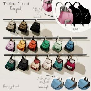 Tableau Vivant - Backpacks
