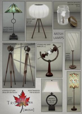 Trompe Loeil - Lamps