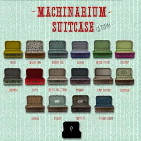 Vespertine - Machinarium Suitcases