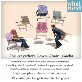 What Next - The Anywhere Lawn Chair