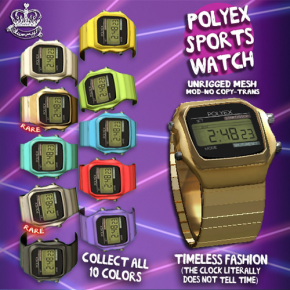 Yummy - Polyex Sports Watch
