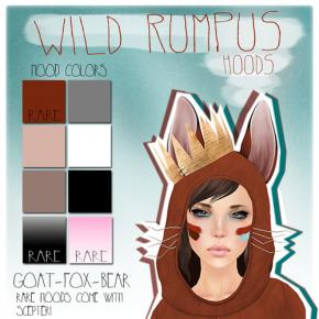 Auxiliary - Wild Rumpus Hood